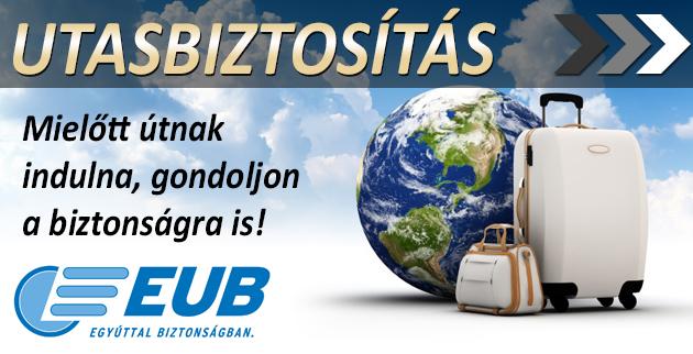 EUB utasbiztosítás